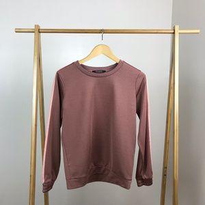 Scotch & Soda • Pink Contrast Panel Sweatshirt